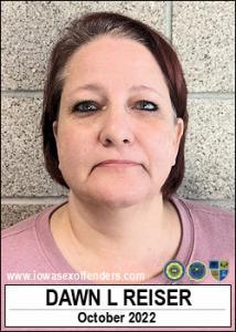 Dawn Lenea Reiser a registered Sex Offender of Iowa