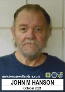 John Marvin Hanson a registered Sex Offender of Iowa