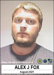 Alex Jordan Fox a registered Sex Offender of Iowa