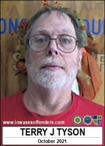Terry James Tyson a registered Sex Offender of Iowa