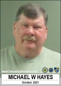 Michael William Hayes a registered Sex Offender of Iowa