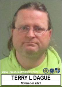 Terry Lee Dague a registered Sex Offender of Iowa