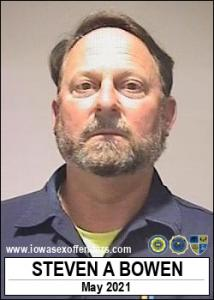 Steven Alan Bowen a registered Sex Offender of Iowa
