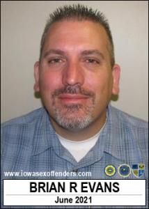 Brian Robert Evans a registered Sex Offender of Iowa