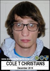 Cole Timothy Christians a registered Sex Offender of Iowa