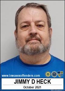 Jimmy Dwayne Heck a registered Sex Offender of Iowa
