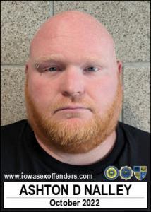 Ashton David Nalley a registered Sex Offender of Iowa