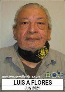 Luis Alonso Flores a registered Sex Offender of Iowa