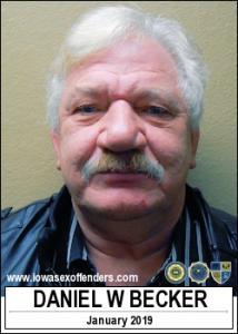 Daniel William Becker a registered Sex Offender of Iowa