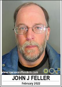 John Jeffrey Feller a registered Sex Offender of Iowa