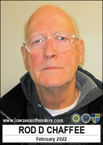 Rod Duane Chaffee a registered Sex Offender of Iowa