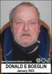 Donald Eugene Boeglin a registered Sex Offender of Iowa
