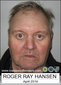 Roger Ray Hansen a registered Sex Offender of Iowa
