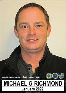 Michael Garner Richmond a registered Sex Offender of Iowa