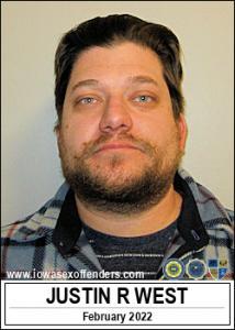 Justin Robert West a registered Sex Offender of Iowa