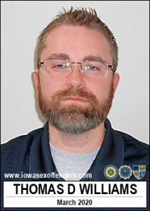 Thomas Daniel Williams a registered Sex Offender of Iowa