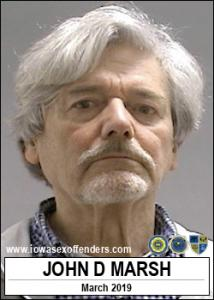 John Douglas Marsh a registered Sex Offender of Iowa