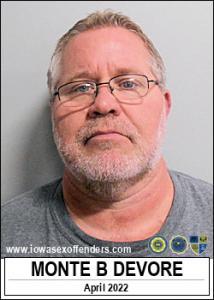 Monte Boyd Devore a registered Sex Offender of Iowa