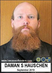Daman Steven Hauschen a registered Sex Offender of Iowa