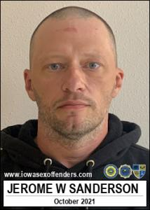 Jerome Wayne Sanderson a registered Sex Offender of Iowa