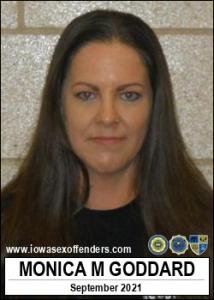 Monica Michelle Goddard a registered Sex Offender of Illinois
