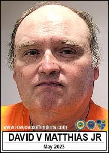 David Verle Matthias Jr a registered Sex Offender of Iowa