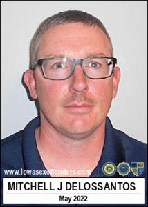 Mitchell Jesus Delossantos a registered Sex Offender of Iowa