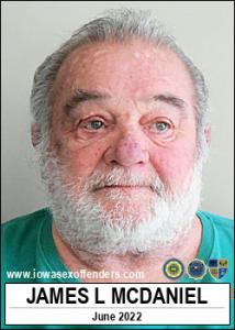 James Lincoln Mcdaniel a registered Sex Offender of Iowa