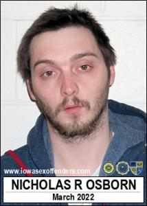 Nicholas Russell Osborn a registered Sex Offender of Iowa