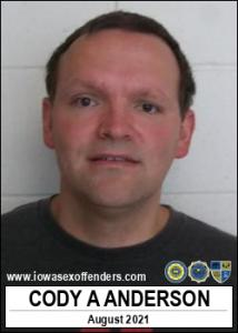 Cody Allan Anderson a registered Sex Offender of Iowa