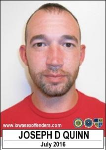 Joseph Dewayne Quinn a registered Sex Offender of Iowa