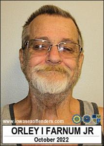 Orley Ivan Farnum Jr a registered Sex Offender of Iowa