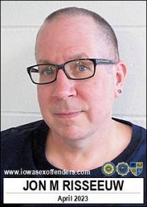 Jon Michael Risseeuw a registered Sex Offender of Iowa