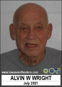 Alvin Wayne Wright a registered Sex Offender of Iowa