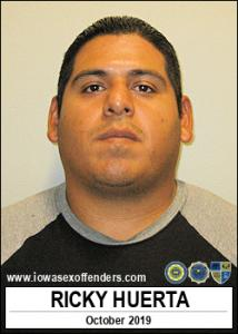Ricky Huerta a registered Sex Offender of Iowa