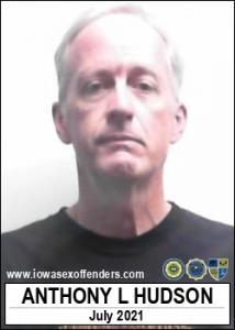 Anthony Lee Hudson a registered Sex Offender of Iowa