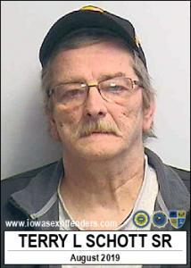 Terry Lee Schott Sr a registered Sex Offender of Iowa