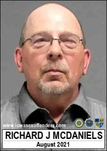 Richard James Mcdaniels a registered Sex Offender of Iowa