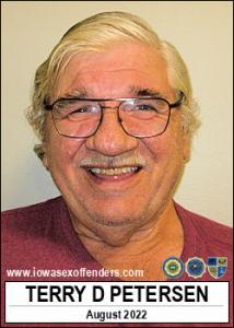 Terry Dean Petersen a registered Sex Offender of Iowa