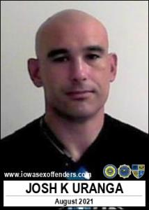 Josh Kelly Uranga a registered Sex Offender of Iowa