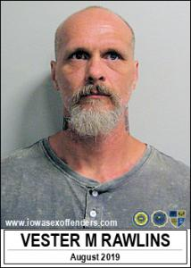 Vester Matthew Rawlins a registered Sex Offender of Iowa