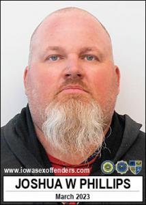 Joshua Wayne Phillips a registered Sex Offender of Iowa