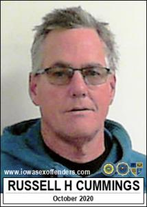 Russell Harold Cummings a registered Sex Offender of Iowa