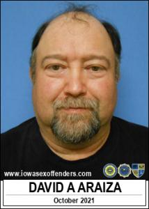 David Anthony Araiza a registered Sex Offender of Iowa