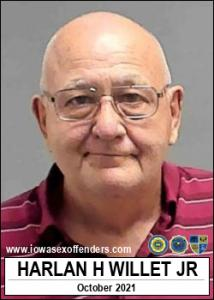 Harlan Hall Willet Jr a registered Sex Offender of Iowa