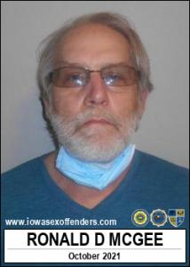 Ronald Dewayne Mcgee a registered Sex Offender of Iowa