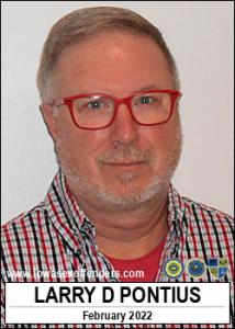 Larry Dean Pontius a registered Sex Offender of Iowa
