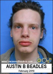 Austin Bryce Beadles a registered Sex Offender of Iowa
