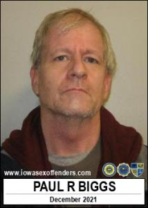 Paul Ray Biggs a registered Sex Offender of Iowa