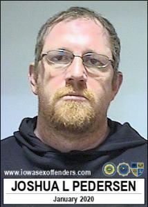 Joshua Lynn Pedersen a registered Sex Offender of Iowa